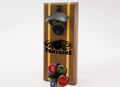 University of Wisconsin Milwaukee Panther with Panthers