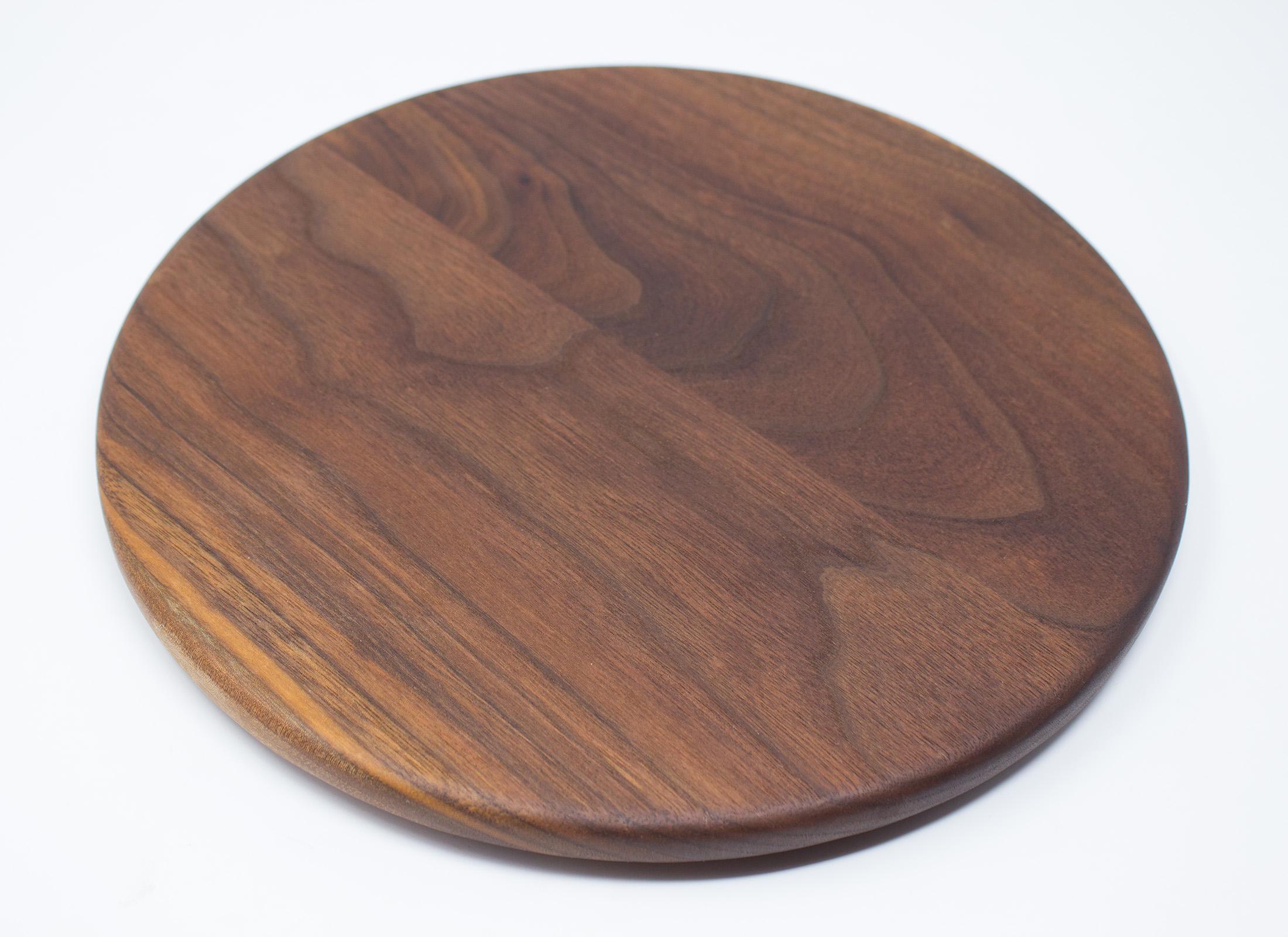 Walnut Circle Cutting Board Rockford Woodcrafts
